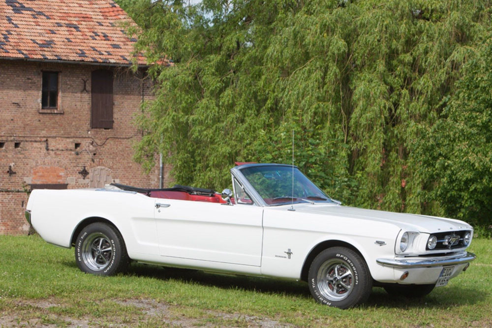 1965 ford mustang oldtimer cabrio 1 wochenende bei. Black Bedroom Furniture Sets. Home Design Ideas