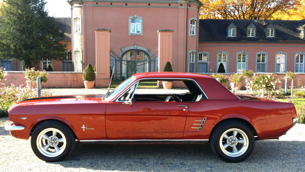 1966 ford mustang oldtimer 3 stunden in erfurt ford. Black Bedroom Furniture Sets. Home Design Ideas